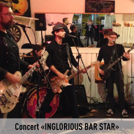 Concert INGLOURIOUS BAR STAR